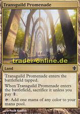 2x Transguild Promenade (Weg zwischen den Gilden) Commander 2013 Magic