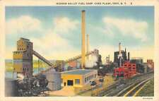 Troy New York Hudson Fuel Corp Coke Plant Antique Postcard K51727