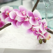 Orchid Single Stem Artificial Flowers Wedding Home Decoration