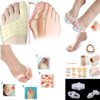 Silicone Gel Toe Separators Bunion Corrector Device Foot Care Tool Pain Relief