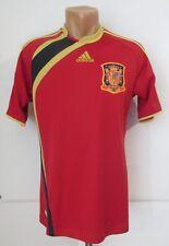 SPAIN 2009/2010 HOME FOOTBALL SHIRT SOCCER JERSEY CAMISETA ADIDAS INIESTA ERA S