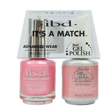 ibd Its A Match Advanced Wear Just gel & Nail Lacquer - 65479 So in Love 0.5oz