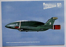 "Thunderbirds 50 Years - 6"" x 4"" POSTCARD SIZED card - THUNDERBIRD TWO"