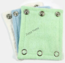New bodysuit extenders pack of 6. Boy colours. MCN. Cloth Nappy. Nappies.
