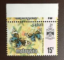 Malaysia Sabah 1977-78 15c Harrison Butterflies MNH