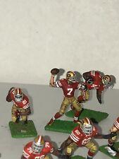 Tudor Electric Football Game Custom NFL S.F. 49ers 22 Electric Gridiron Figures!