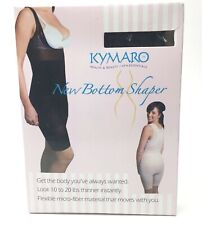 Kymaro Womens New Bottom Shaper Size Large Black Shapewear  Smoothes and Lifts