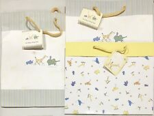"John Lennon ""Real Love"" Set of 3 Baby Shower Birth Gift Bags CRGibson Pastel NEW"