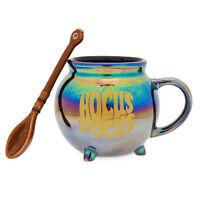Disney's Hocus Pocus Iridescent Ceramic Mug and Spoon Set Halloween NEW IN-HAND!