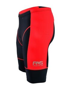 Men's Triathlon Shorts Tri Cycling Run Swim Compression Coolmax padded Shorts