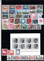 Briefmarken Bund BRD Sammlung Jahr 1964 postfrisch komplett mit Block 3