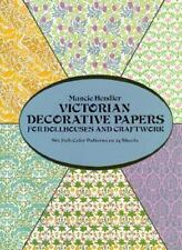 Victorian Dollhouse Wallpaper: Six Full-Color Patterns To Decorate Six Rooms