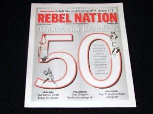 UNLV Rebel Nation Magazine Greg Anthony Basketball Jersey Retirement Issue RARE