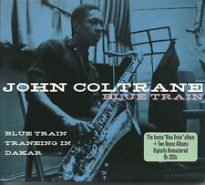 JOHN COLTRANE BLUE TRAIN 2 CD BOX SET