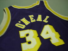 Vintage SHAQUILLE ONEAL Los Angeles Lakers Jersey 10-12