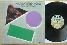 MARGARET REYNOLDS – THINK ABOUT IT BABY – US MALACO LP (1987) NM
