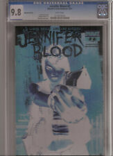 JENNIFER BLOOD #2 CGC 9.8 NEGATIVE VARIANT COVER