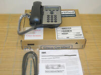 Cisco CP-7905G RF Refurbished by Cisco IP PHONE VoIP SIP no footstand Box