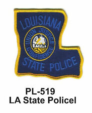 """LA STATE POLICE EMBROIDERED PATCHES 3"""""""