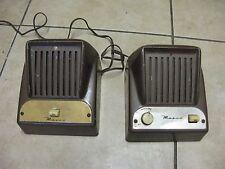 Vintage Masco JM-1 Sound Intercom System Speakers Old Collectible 1950's