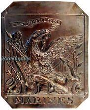 25 Vintage USMC Copper 1807 Shako Plate Reproductions FORTITUDINE MARINES