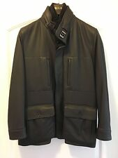 Loro Piana Rare Arctic Moose Leather/Fur Men's Suomi Winter Jacket - $8,495.00