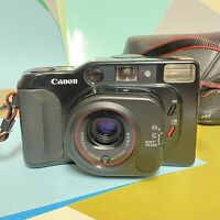Canon Sure Shot TELE 35mm Compact Point & Shoot Camera Lomo Retro Working Vgc
