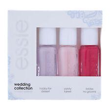 essie Wedding Collection Limited Edition Nail Polish Set 3 X 5ml FREEPOST