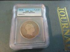 Britain - 1818 Sterling Silver Half Crown - ICG-G4 - King George III
