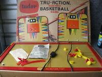 "Vintage 1959 Tudor ""Tru Action""  Electric Basketball Game"