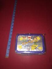 VTG Nintendo Pokemon Gotta Catch Them All Trading Card Storage Tin Box MIP 1998