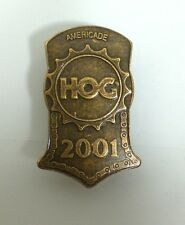 2001 Harley Davidson Hog Rally Pin Stop Americade Vest Jacket Hat Owners Group