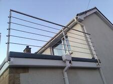 Acier inoxydable balustrade, balcon, mains courantes, clôture-Qualité fournisseur
