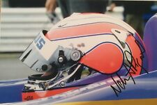New listing Nelson Piquet Jnr Signed Photograph