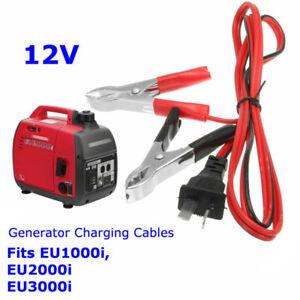 Charging Cable For Honda Generator EU1000i/EU2000i Alligator Clip Cord Equipment