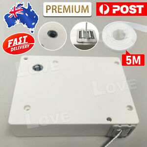 WHITE ROLLER SHUTTER Control WINDER BOX With 5m FREE STRAP NEW