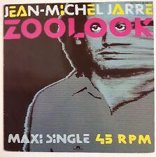 "Jean Michael Jarre Zoolook maxisingle 12"" Alemania 1984"
