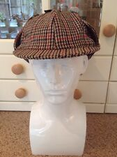 HAWKINS CHECKED CLASSIC HEADWEAR COUNTRY COLLECTION HAT UK SIZE M (58CM) BNWT