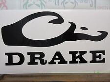 "DRAKE Waterfowl 6"" Decal (2 pack) choose color"