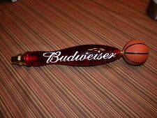 """Budweiser Basketball Red Beer Tap from Old Orlando Magic Arena 13"""""""
