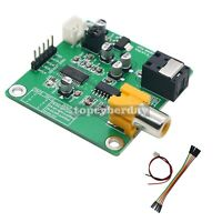 Fiber Coaxial Receiver Module 5V 24bit 96Khz Dedicated for DAC+Optical Fiber