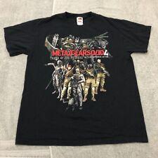 Metal Gear Solid 4 Guns Of The Patriots Tee Shirt Konami PS3 PlayStation 3 Gamer