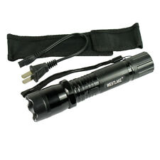 Rechargeable 48 Million Volt Stun Gun with Flashlight and Case