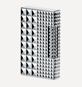 NEW S.T. Dupont - Ligne 2 Lighter Iconic 3D Design Palladium Finish 016066 ST