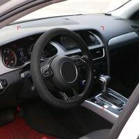38cm Elastic Car SUV Steering Wheel Cover Non Slip Protector Fabric Net Auto