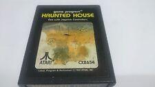 JUEGO CARTUCHO HAUNTED HOUSE CX2654 ATARI 2600 VCS VIDEOGAME CART SPIEL JEU