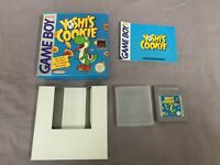 Yoshi's Cookie -Cib Nintendo Gameboy Gb Pal - Boxed Ovp - Game Boy