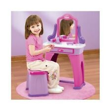 Vanity Set For Girls Table Vanities Kids Toddler Play Toy Childs Birthday Gift