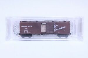 MTL N SCALE CANADIAN PACIFIC 40' SINGLE DOOR BOX CAR NEW IN BOX