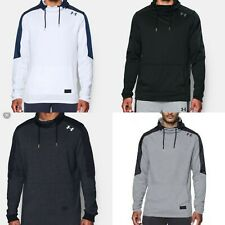 Men Under Armour Pursuit Funnel Neck French Terry Pullover Sweatshirt Top Defect